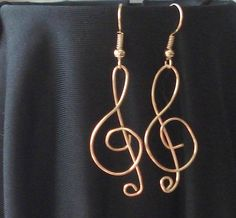 Treble Clef Music Note gold wire wrapped FREE by MermaidMiss, $15.00