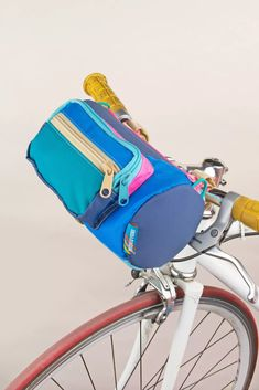 Mokuyobi Bike Barrel Bag | Urban Outfitters Barrel Bag, Cycle Chic, Bike Bag, Saddle Bags, Party Supplies, Urban Outfitters, Wallet, How To Wear, Outdoor Activities