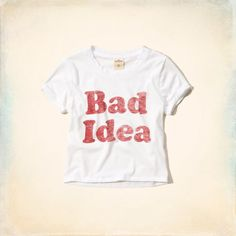 Bad Idea Graphic T-Shirt