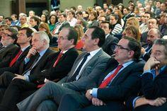 Jornada 'Casos de Éxito de las Empresas   en los Mercados Exteriores', organizada por Castilla y León Económica y Banco Santander. Público asistente a la jornada.