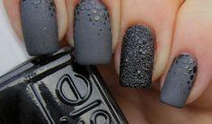 Black Matte Nails Design Tumblr | Beauty Nails