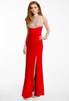 SEQUINED BODICE DRES