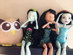 Owly is wondering about his new companions. Freaky! Day 287 of #yearofowly #lifeofowly