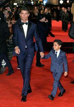 Cristiano Ronaldo Sr & Jr