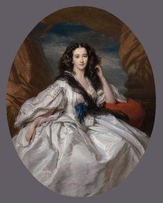 Wieńczysława Barczewska, Madame de Jurjewicz 1860 Franz Xaver Winterhalter | In the Swan's Shadow