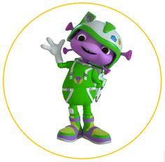 """2017 Junior floogal Boomer 3/"""" Green Action Figure floogals Universal Kids"""