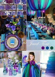 DIY Peacock Wedding Ideas Decorations