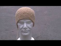 Basic Men's Beanie Free Pattern Workshop - YouTube