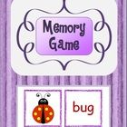 This Memory Card Game complements the 'Word Families - Blending Onsets and Rimes' pack. Just the 33 CVC words from that pack have been used.