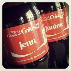 Personalized Coke Labels: Lou-juliana