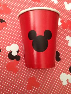 Pegatina Mickey Mouse cut outs por DivineGlitters en Etsy