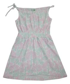 Blue Spring Tree Penny Organic Dress