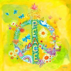 Peace for All Canvas Art