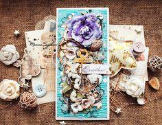 Морской свадебный конверт для денег [Sea wedding envelope]