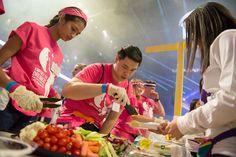 Dancers Eat At THON