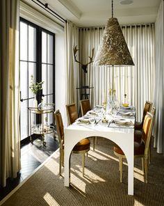 Lacquered arched leg table_Designer-visions-2013-elle-decor-portfolio-interiors-contemporary-eclectic-dining-room