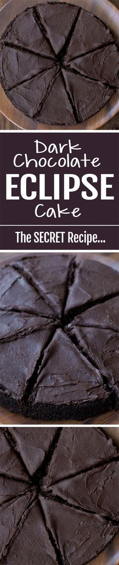 Do you know the one secret to making a chocolate cake that is darker and richer? Use dutch cocoa powder!