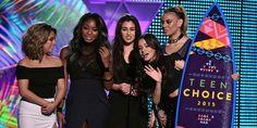 Fifth Harmony Teen Choice 2015