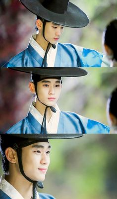 Beautiful Do Min Joon in hanbook.  Man From The Stars. Kim Soo Hyun.