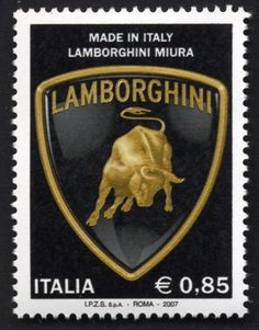 Lamborghini Stamp Issued By The Italian Post Office - https://www.luxury.guugles.com/lamborghini-stamp-issued-by-the-italian-post-office/