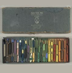 Design is fine. History is mine.      — The 'Old Faithful' Crayons, 1900.American Crayon...