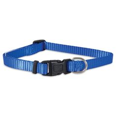 Aspen Pet Products Adjustable Collar, 8-14' x 3/8', Blue -- More info could be found at the image url. (This is an affiliate link and I receive a commission for the sales)