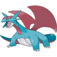 Salamence - #373 - Dragon and Flying Type