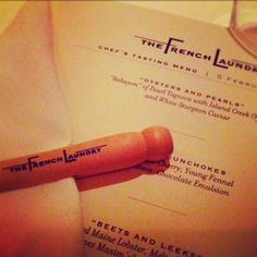 The French Laundry = Heaven Trip Planner, Travel Planner, Island Creek Oysters, The French Laundry, Tasting Menu, Wineries, Heaven, California