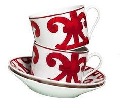 Hermes china. Beautiful cups to drink anything!