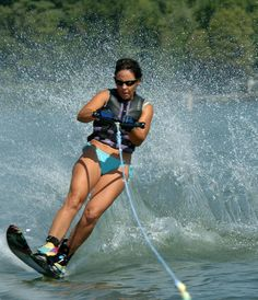 Water Ski - I learned to water ski at age 7 and was on a single at age 9!  Our vacations at the Delta were spent skiing all day, every day!
