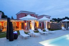 Private Seasisde Villas, Luxury Corfu Accommodation