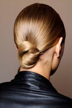 Sleek knot.