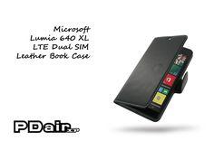 PDair Microsoft Lumia 640 XL LTE Leather Book Case