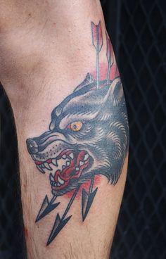 Wolf head by Kapten Hanna, via Flickr
