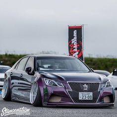 The Front End Of A Toyota Crown Is Just Crazy. So Much Presence.