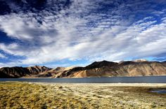 Ladakh, Pangong Tso - one of the giant himalayan lakes situated at the altitude over 4300 meters above sea level.  #Leh #Ladakh #IndiaTravel