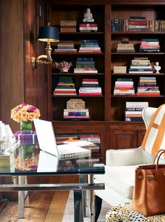 gorgeous office. amazing styling, always, by Ronny Carroll Stacy Bass…