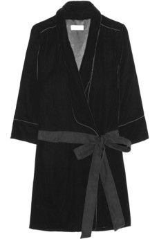 TITLE A Smoking Dress velvet jacket | NET-A-PORTER