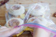 Make Ahead & Freeze: Breakfast Sandwiches by Joanne