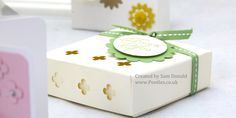 Stampin Up Soap Gift Treat Box with Windows 3 (1)
