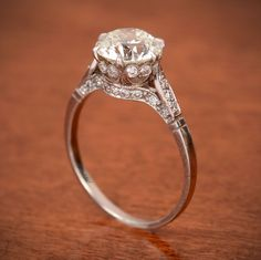 2.15ct Diamond Engagement Ring