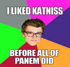 Hipster Peeta; Hunger Games