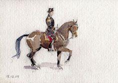 A watercolor by W. Frank Calderon