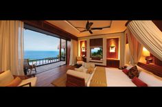 Villas have been purposefully designed to stimulate your senses ...