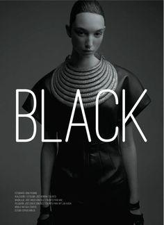 OXXO magazine, estilista Jose Herrera, editorial BLACK.