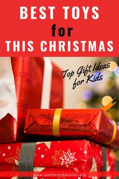 Best toys for Christmas - Great toy gift ideas for this holiday season. Christmas toys for girls and boys. Don't miss out, Check out this MUST-SEE gift list today! #kidstoys #christmastoys