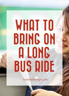 When you're traveling long-distances by bus there are a few essentials you should never forget. Find out what to bring on a long bus ride!