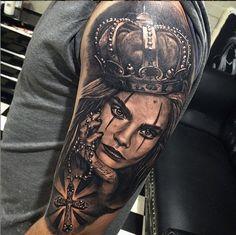 Tattoo by Australian Tattoo Artist Dylan Weber