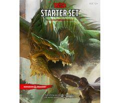 Conceput pentru 1-5 jucatori,Dungeons and Dragons RPG Starter Set include regulile pentru crearea de personaje, un ghid pentru Dungeon Master si aventuri.
