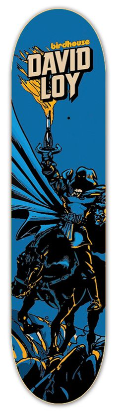 David Loy The Horseman Deck / x